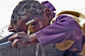 Paczka dla koptyjskiego dziecka